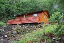 Nice little hut in Norway at the Fjord, 20 hp boat incl. very nice surrounding, hiking, fishing, sightseeing interesting nature