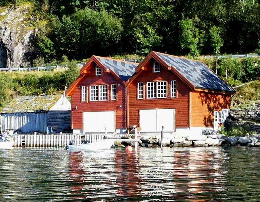 ferienhaus norwegen am fjord norway. Black Bedroom Furniture Sets. Home Design Ideas
