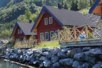 Exclusive cottage, summerhouse at the Fjord in Norway, fishing boat included, internet, TV, everything free!