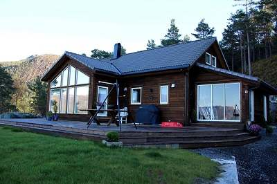 ferienhaus norwegen mit boot norway fjordhytter. Black Bedroom Furniture Sets. Home Design Ideas