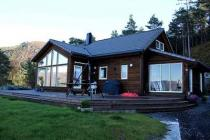 Comfortable holiday house in Norway, including motorboat, near Hardangerfjord, nice view on the Fjord.